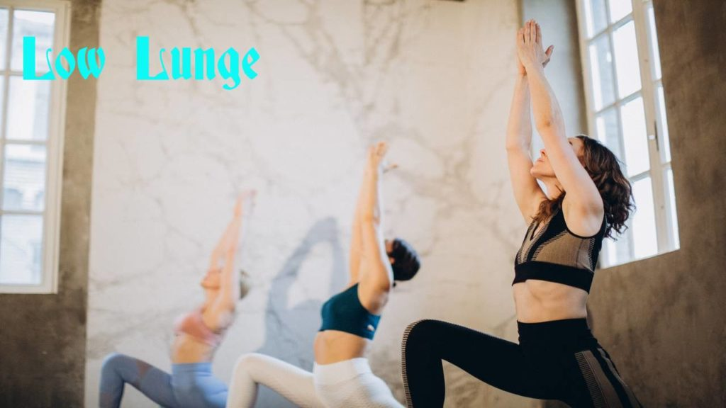 Low Lunge yoga