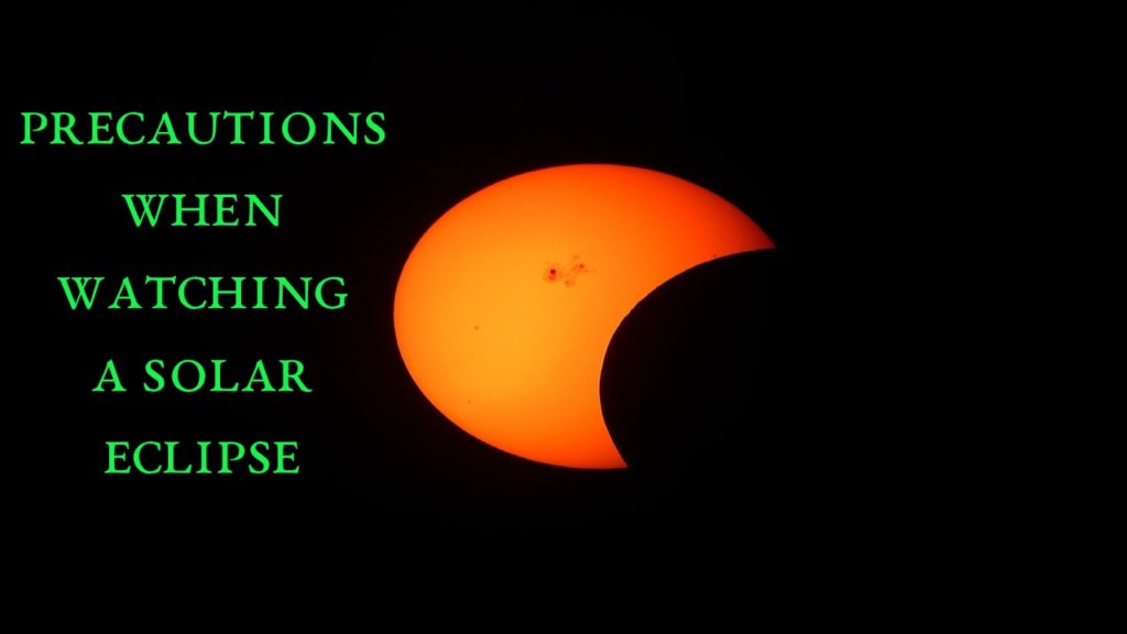 Phases Of The Solar Eclipse