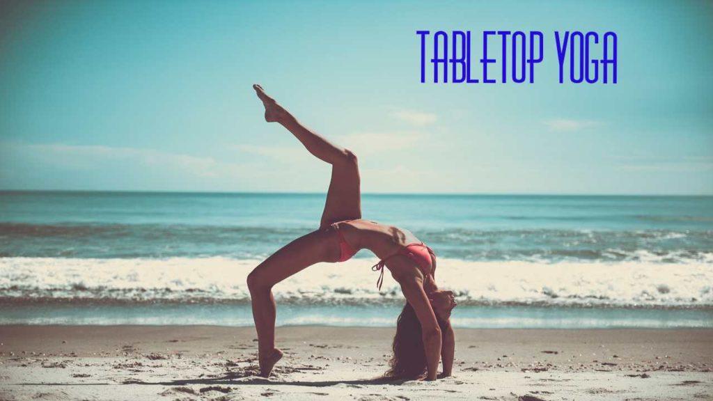 Tabletop Pose Yoga