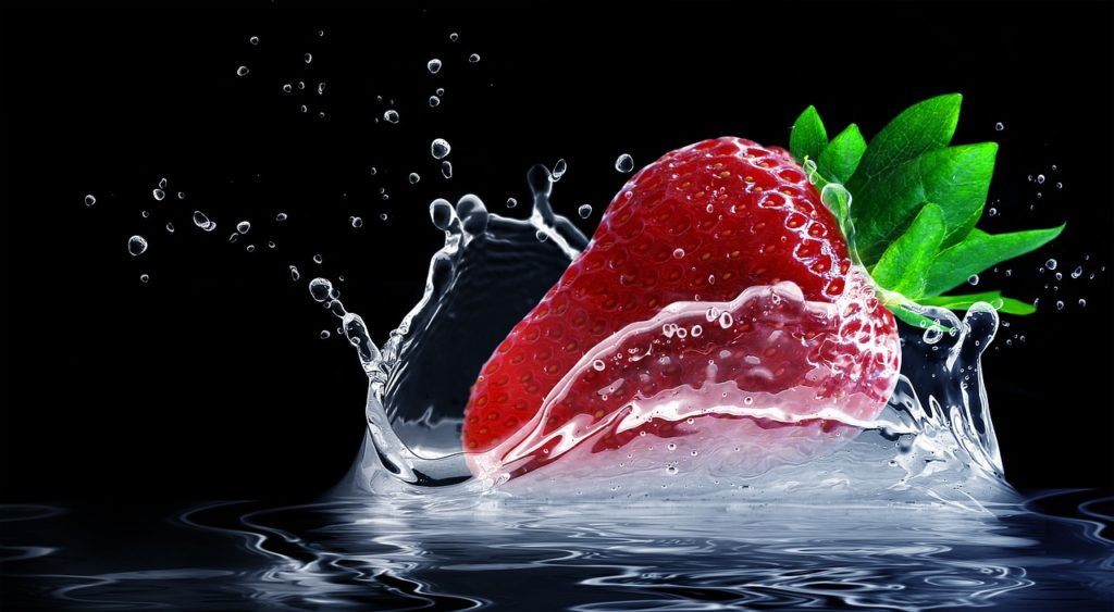 strawberry apple pear may help to lose weight