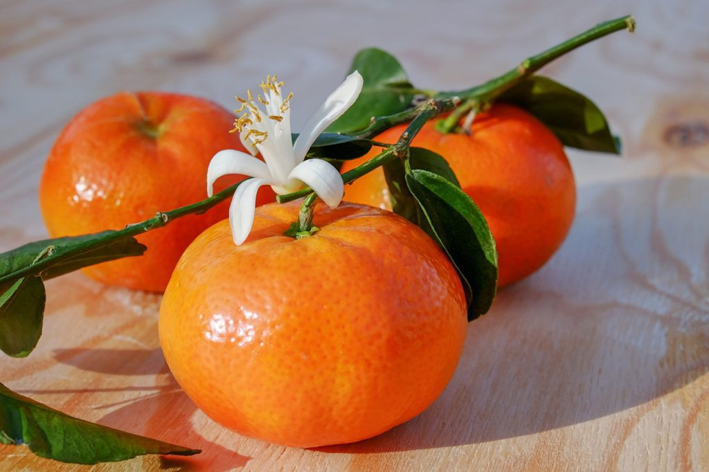 tangerines help to lose weight