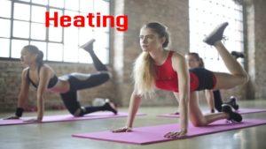 a workout