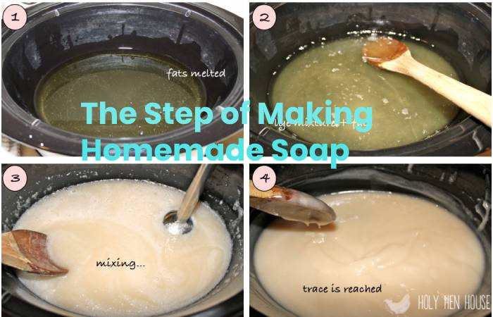 Step of soap